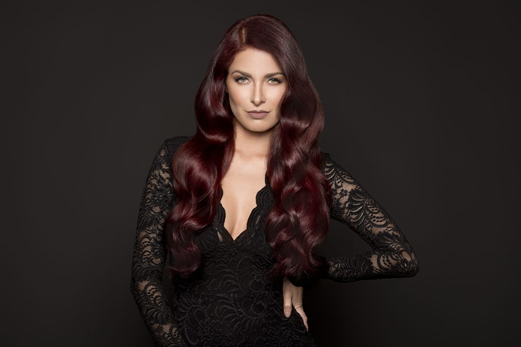 Hotheads Hair Extensions Reds