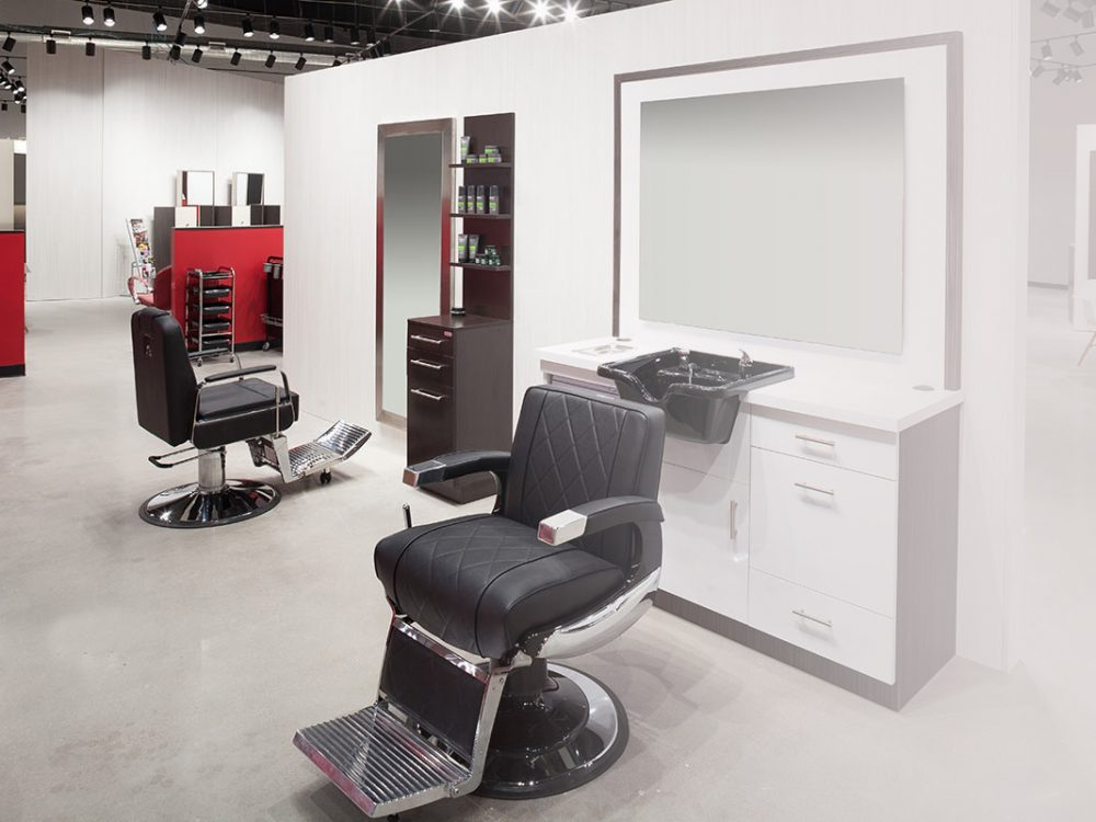Barber Shop by Kaemark - With more focused product offerings, excellent and precision salon furnishings that will create a great salon experience for you and your client's.