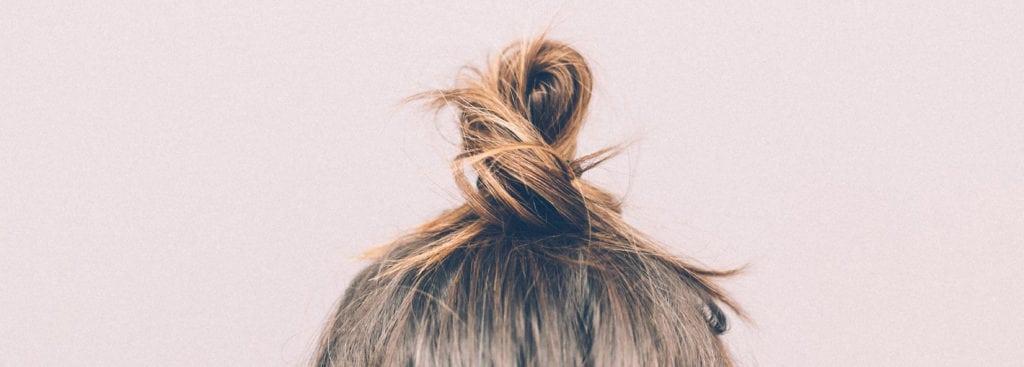 client hair loss bun