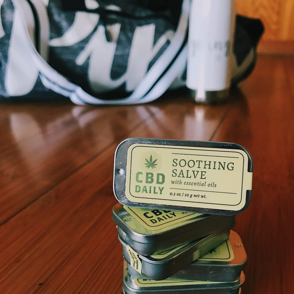 CBD Daily Soothing Salve | Relief on the go!